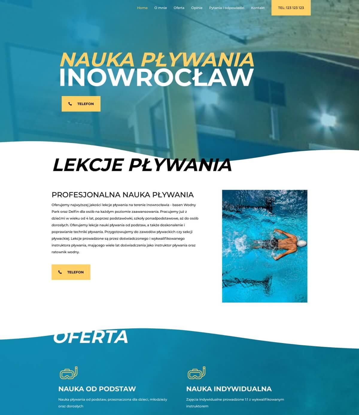 Nauka pływania Inowrocław